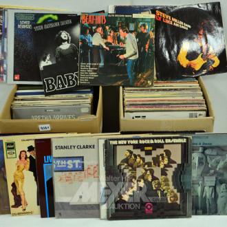 2 Kartons Schallplatten