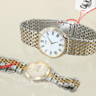 2 versch. Armbanduhren, CITIZEN