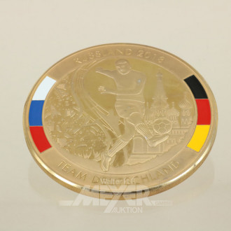 Medaille Russland 2018, Team Deutschland