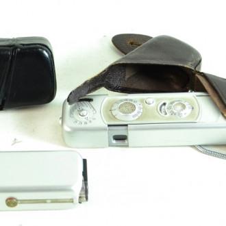 Fotoapparat MINOX, mit Zubehör