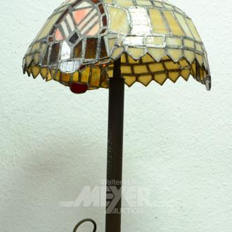 Tischlampe im Tiffanystil,