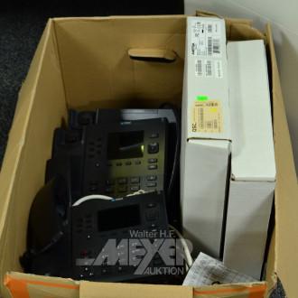5 Telefone, MITEL, Modell: 6867i