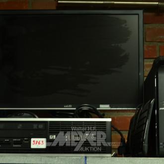 2 PC's, HP u. PACKARD BELL