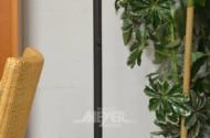 Deckenfluter mit Glasschirm,