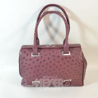 Damenhandtasche, neuwertig, rotbraun,