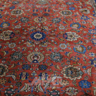 Orientteppich ''Kirman'' rotgrundig