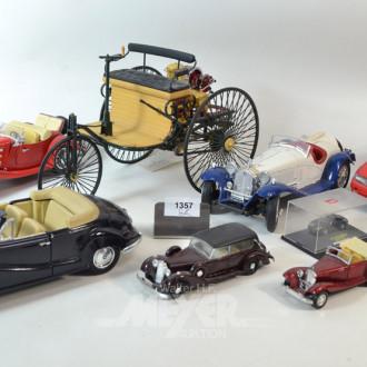 9 Posten div. Modellautos