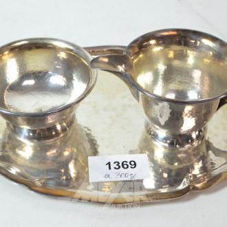Rahmset-3 teilig, 925 Silber