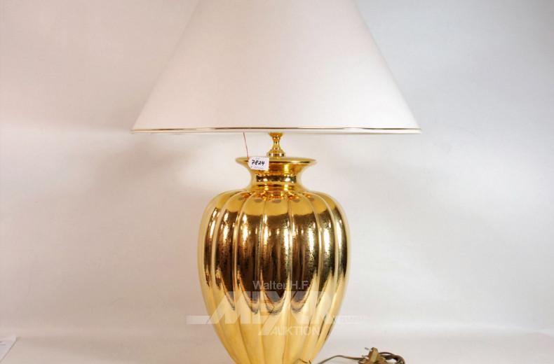 gr. Vasenlampenpaar, Porzellan
