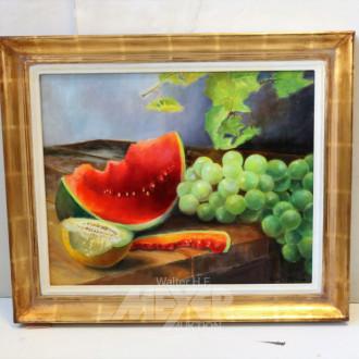 Gemälde ''Obststillleben''