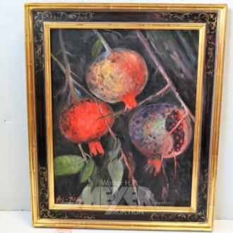Gemälde ''Granatäpfel''