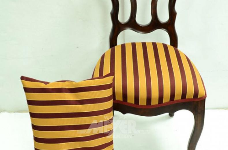 antiker Stuhl, 2. Hälfte 19. Jh.,