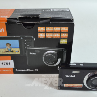 Digitalkamera ''ROLLEI'' Compactline 83