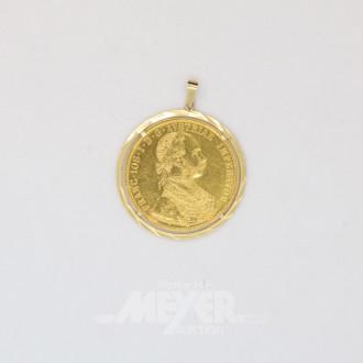 Münzanhänger ''Kaiser Franz Joseph I. ''
