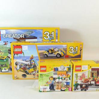 4 LEGO u.a. Creator