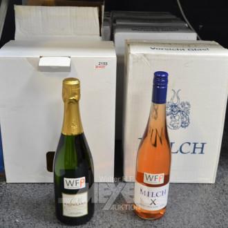 7 Kisten Wein, Rosé Trocken ''MILCH''