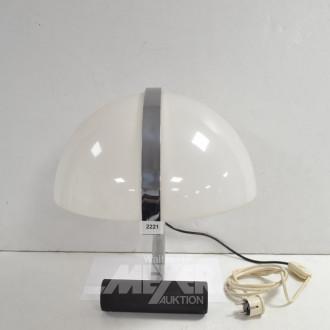 moderne Tischlampe, Metallgestell,