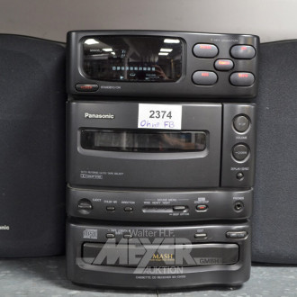 Mini-Stereoanlage ''TECHNICS'' MASH