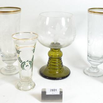 6 div. Gläser