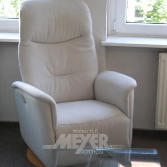 TV-Sessel, beige