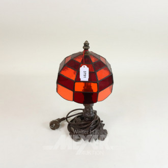 kl. Tischlampe im Tiffany-Stil