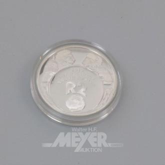 10 Silbermünzen R2, World Cup South Arika