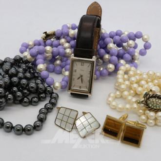 Posten Modeschmuck, Armbänder, Ketten,