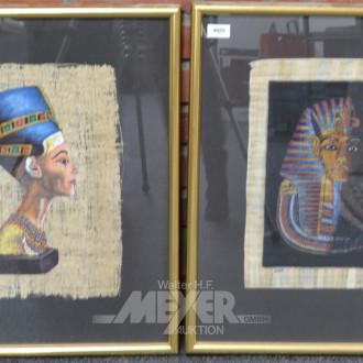 2 Bilder ''Pharao Ramses''