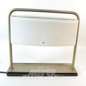 Tischlampe, Metall-/Plexiglasschirm