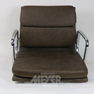 Besucher-Drehstuhl ''Soft Pad Chair'',
