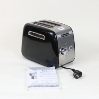 Toaster ''KitchenAid'' 5KMT221, schwarz,