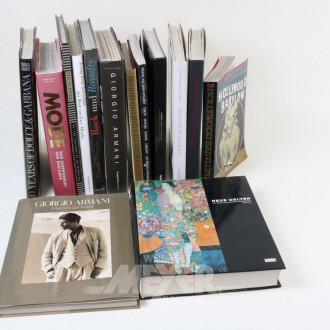 15 Mode- und Designbildbände,