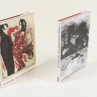2 Bildbände ''Das graphische Werk I+II''