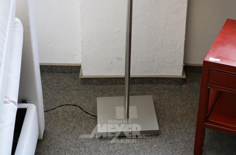LED-Stehlampe, VA-Optik, mit Knickarm