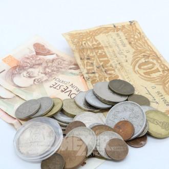 Posten div. Münzen und Papiergeld