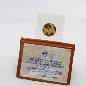Medaille, 900er Gold,