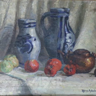Gemälde ''Stillleben mit Obst'',
