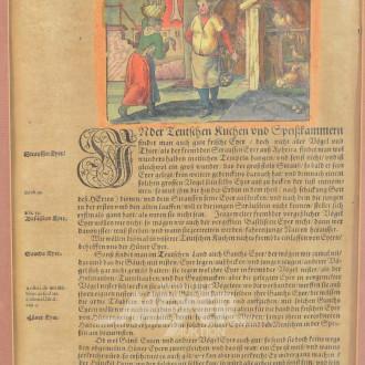 Historische Buchseite
