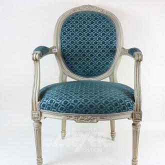 Damen-Armlehnstuhl, Empirestil,