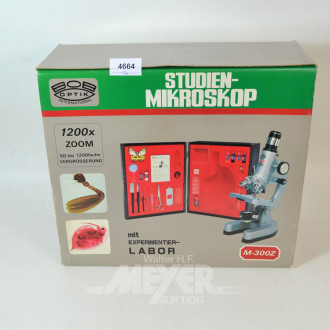 Studien-Mikroskop ''BOB-Optik''