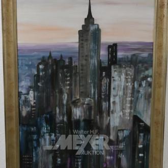 mod. Gemälde ''New York''