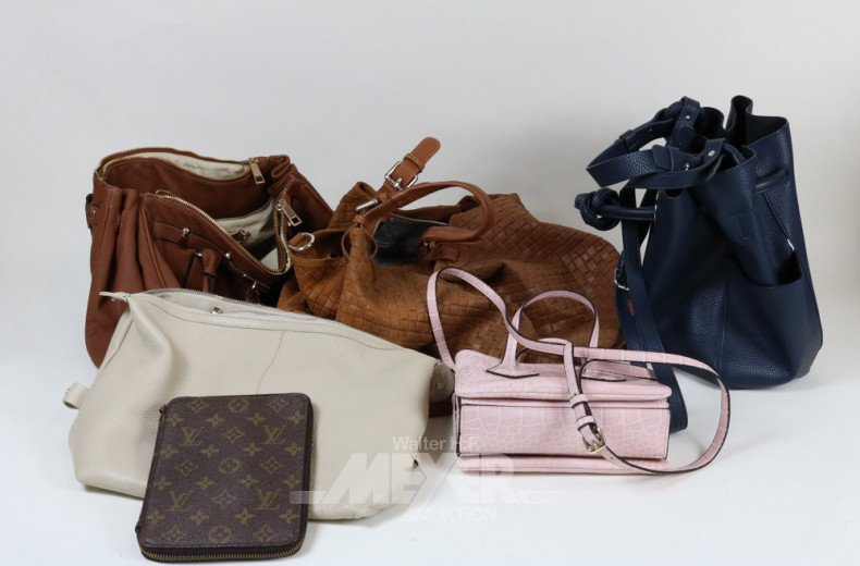 Posten div. Damenhandtaschen