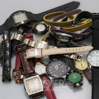 Posten Armbanduhren, ca. 23 Stück
