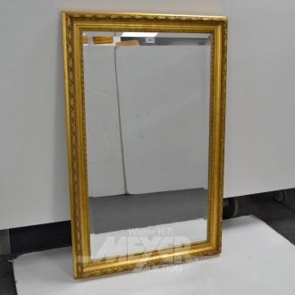 fac. Spiegel im goldf. Rahmen,