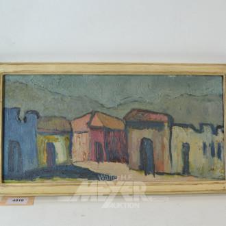 Gemälde ''Straßenzug''
