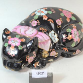 Keramik - Figur ''Katze''