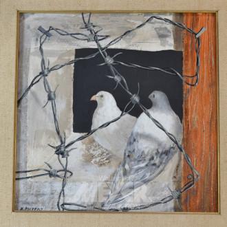 Gemälde ''Tauben''