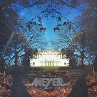 Druck ''Villa im Park''