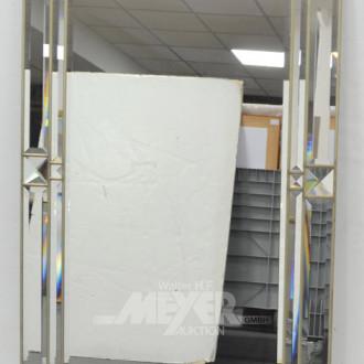 fac. Spiegel, 131 x 80 cm, Metallrahmen