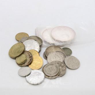 Posten div. Münzen und Medaillen:
